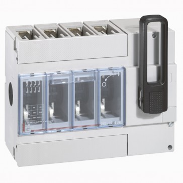 Isolating switch - DPX-IS 630 with release - 4P - 400 A - front handle