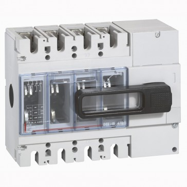 Isolating switch - DPX-IS 630 with release - 4P - 630 A - front handle