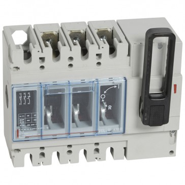Isolating switch - DPX-IS 630 with release - 3P - 400 A - front handle