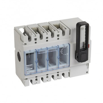 Isolating switch - DPX-IS 630 with release - 3P - 630 A - front handle