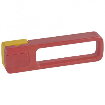 Rotary handle for emergency use - DPX-IS 250/630 front and right side handle