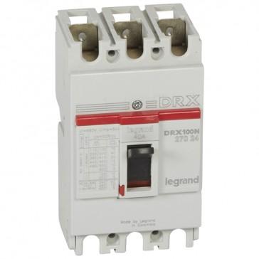 MCCB - DRX 125 - thermal magnetic - Icu 20 kA - 415 V~ - 3P - In 40 A