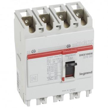 MCCB - DRX 125 - thermal magnetic - Icu 20 kA - 415 V~ - 4P - In 15 A