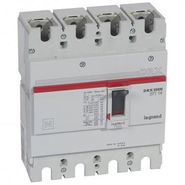 MCCB - DRX 250 - thermal magnetic - Icu 25 kA - 415 V~ - 4P - In 150 A
