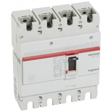 MCCB - DRX 250 - thermal magnetic - Icu 25 kA - 415 V~ - 4P - In 175 A
