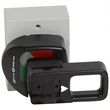 Rotary handle - for DRX 125 - vari-depth handle - standard - grey