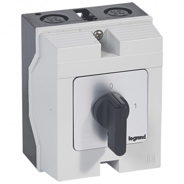 Cam switch - on/off switch - PR 17 - 2P - 20 A - 2 contacts - box 96x120 mm