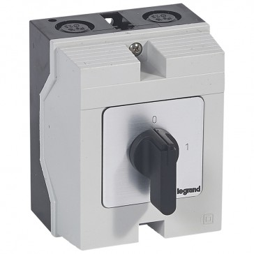 Cam switch - on/off switch - PR 17 - 3P - 20 A - 3 contacts - box 96x120 mm