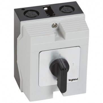 Cam switch - on/off switch - PR 21 - 2P - 25 A - 2 contacts - box 96x120 mm