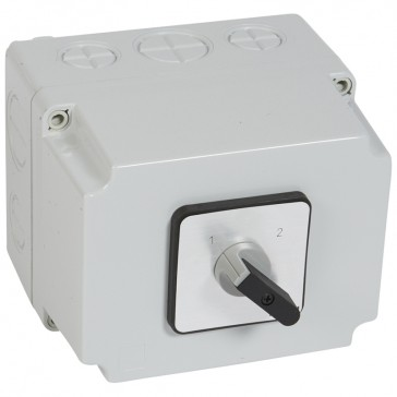 Cam switch - changeover switch without off - PR 63 - 4P - 63 A - box 135x170 mm