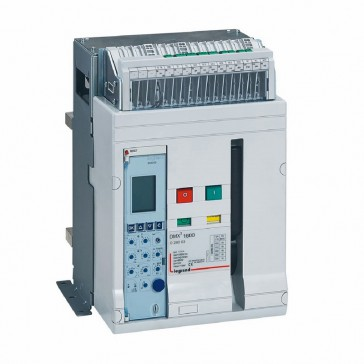 Air circuit breaker DMX³ 1600 lcu 42 kA - fixed version - 3P - 1250 A