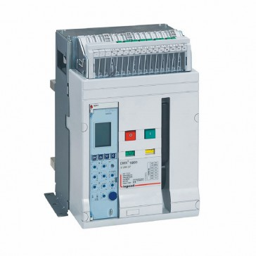 Air circuit breaker DMX³ 1600 lcu 50 kA - fixed version - 3P - 1250 A