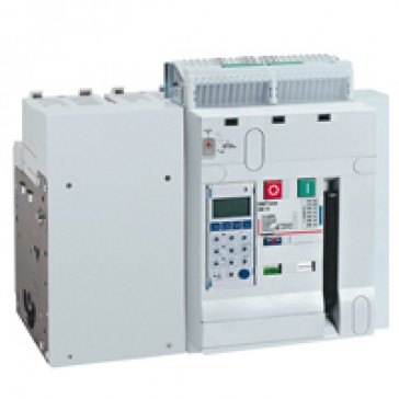 Air circuit breaker DMX³ 2500 lcu 100 kA - fixed version - 4P - 1600 A