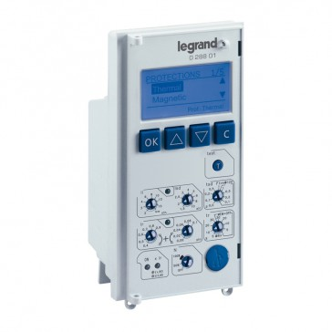 Electronic protection unit MP4 LSI - for DMX³ 2500 and 4000 circuit breakers