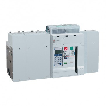 Air circuit breaker DMX³ 6300 lcu 100 kA - fixed version - 4P - 5000 A