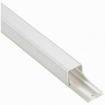 Cable guide - for cable Ø 7 to 9 mm - L. 2.10 m - with adhesive - white