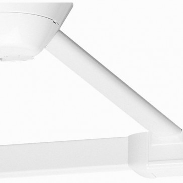 Link accessory - for plug-in ceiling rose and profile - L 3 m - white