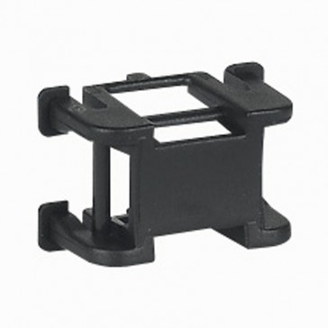 Base for clamp - for flexible cover trunking and adaptable DLP