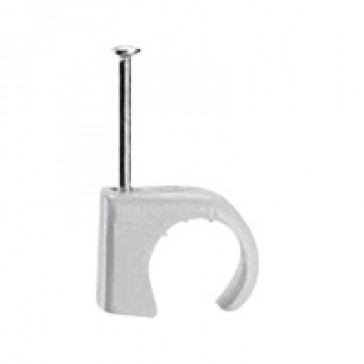 Cable clip Multifix - for concrete materials - for cable Ø 25 to 32 mm - grey