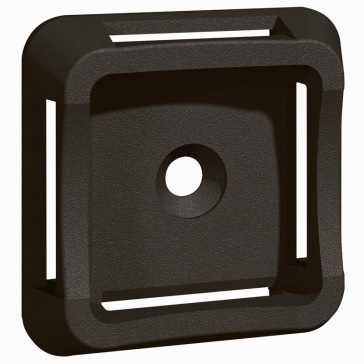 Base - for Colring cable ties max. width 20 mm - self-adhesive - black