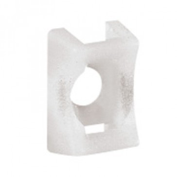 Base - for Colring cable ties max. width 4.6 mm - screw mounting