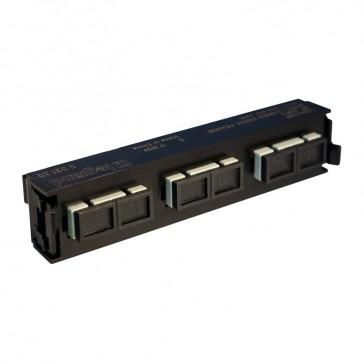 LCS³ fibre optic block - multimode fibre optic block - SC duplex block for 6 multimode fibre optics