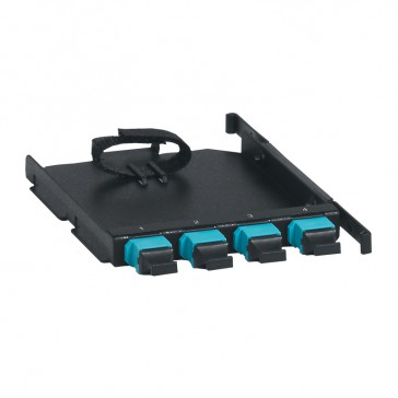 LCS³ multimode 4 MTP adaptor - to be clipped directly to the fibre optic drawers
