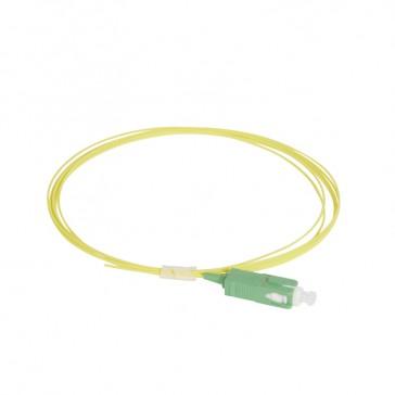 LCS³ pigtail - 9/125µm - OS2 APC or UPC - OS1 compatible - SC-APC OS2 2 m LSZH connectors