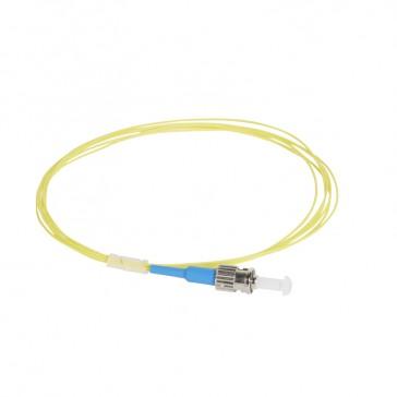 LCS³ pigtail - 9/125µm - OS2 APC or UPC - OS1 compatible - ST-UPC OS2 2 m LSZH connectors