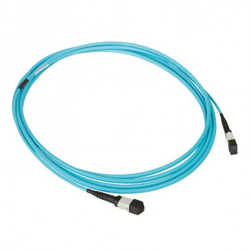 LCS³ high density preterminated fibre optic link - OM3 MTP - 12 fibre optics - MTP-MTP - length 10 m