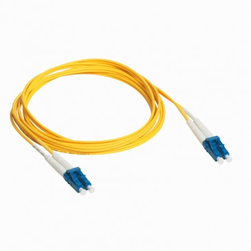 Patch cord fibre optic - OS 1 singlemodules (9/125 μm) - LC/LC duplex - 1 m