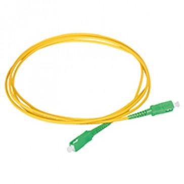Internal optical SC/APC simplex cord - 2 m