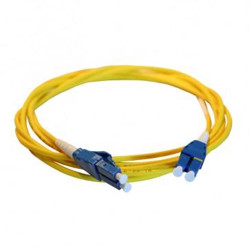 Patch cord fibre optic LCS³ - OS1/OS2 single-mode - LC/LC Uniboot duplex - reversible polarity - 3 m
