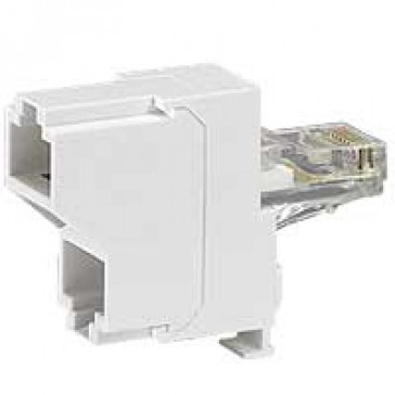 Computer network/computer network double connector LCS²