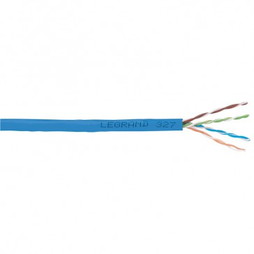 Lan cable - category 6 - F/UTP - 4 pairs - L. 500 m - PVC sleeve
