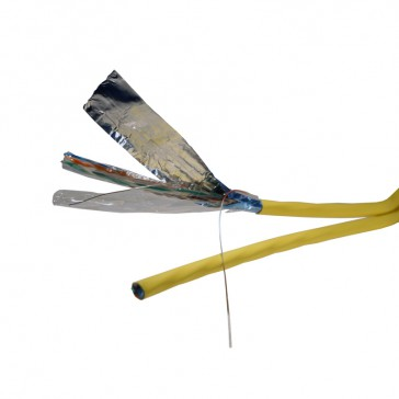 Cable for local networks - category 6 A - F/UTP - 2 x 4 pairs - 500 m
