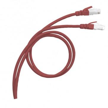 LCS³ RJ 45 patch cords - Cat.8 S/FTP shielded - impedance 100 ohms - length 1 m - LSZH RAL 3020