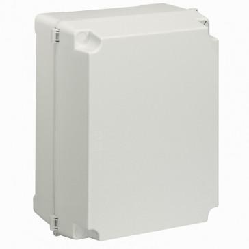Industrial box - plastic - IP55 - IK08 - opaque cover - 359x265x154 mm