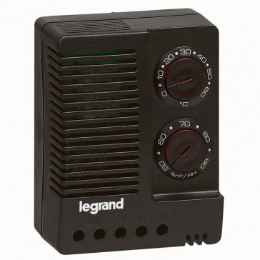 Hygrostat/thermostats - enclosure 230 V~ - 50/60 Hz - adjust temp+humidity