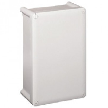 Industrial box - plastic - IP55 - IK07 - opaque cover - 130x130x74 mm