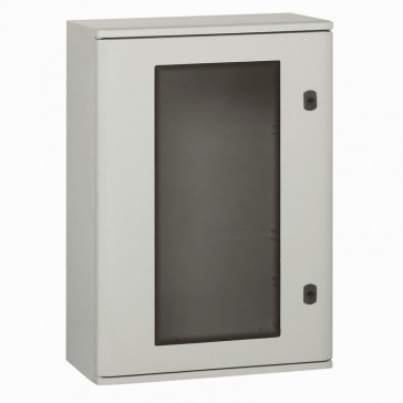 Cabinet Marina - polyester with glass door - IP66 - IK10 - 720x510x250 mm