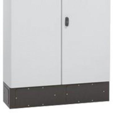 Plinth for Atlantic E cabinet - 600x300 - RAL 7021