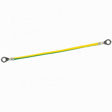 Green/yellow wire for protective conductor - capacity 6 mm²