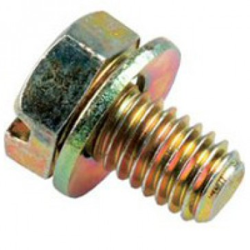 M6-10 HF screw - with contact washer