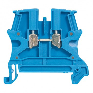 Terminal block Viking 3 - screw - 1 connect - 1 entry/1 outlet - pitch 15 - blue
