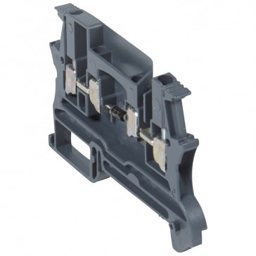 Terminal block viking 3 - screw - function block - 1 connection - diode carrier