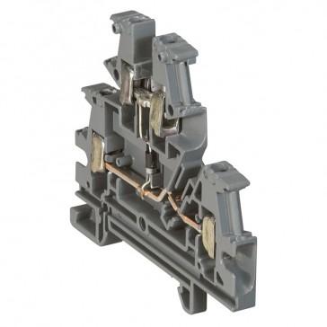 Terminal block viking 3 - screw - function block - 1 connect - modular - pitch 6