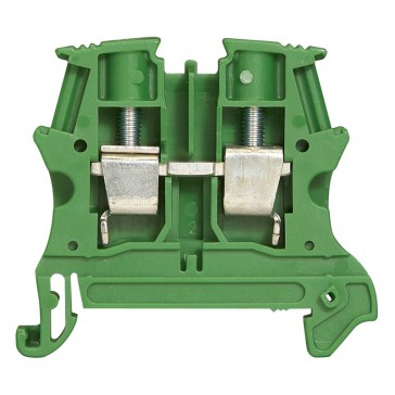 Terminal block viking 3 -screw -for conductor -1 connect - plastic base -pitch 8