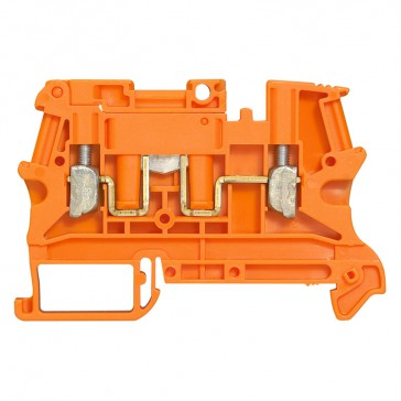 Terminal block Viking 3 -screw -1 connect -fr circuit not broken w handle lever