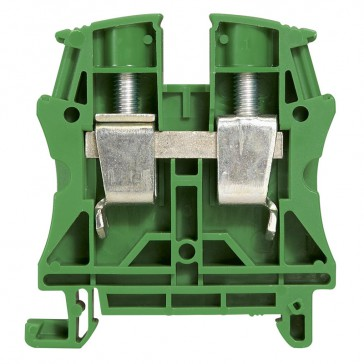 Terminal block Viking 3 - screw - 1 connect - 1 entry/1 outlet - pitch 12-green